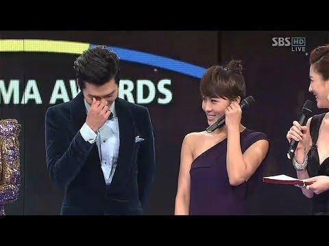 Hyun Bin Ha Ji Won Won Best Couple Award For Secret Garden