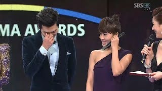 Cover images Hyun Bin Ha Ji Won won best couple award for secret garden