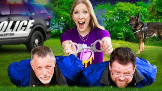 I Challenged Real POLICE to Hide and Seek! *arrested?*