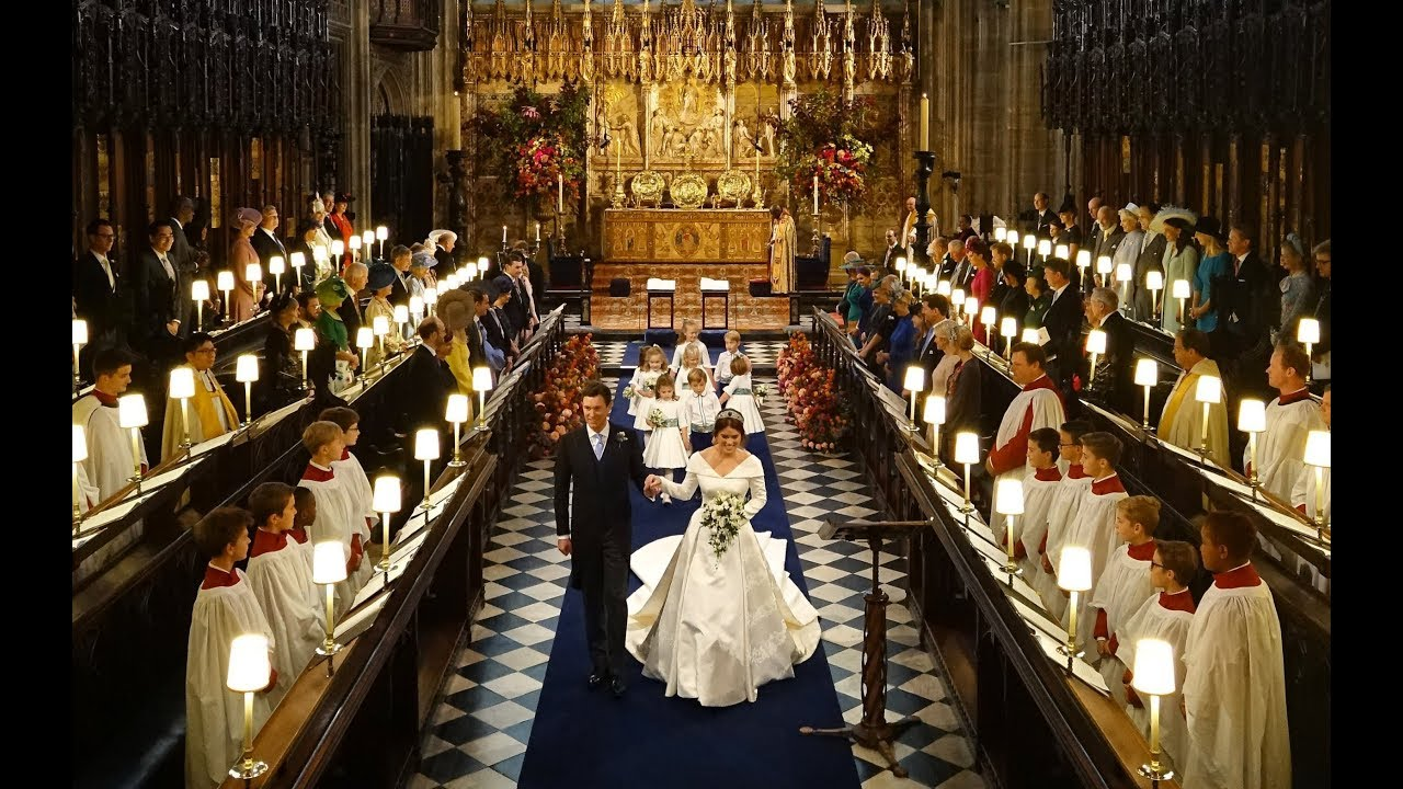 The Royal Wedding of Princess Eugenie and Jack Brooksbank 2018