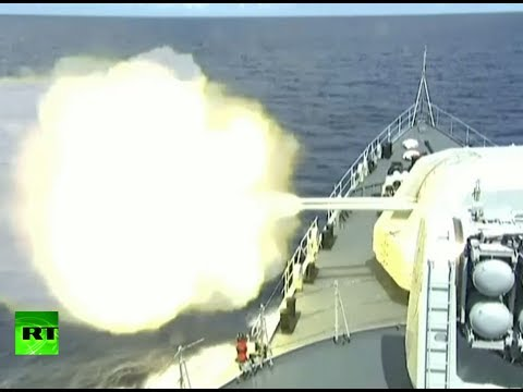 Aim! Fire! China warships live ammo drills in West Pacific