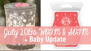 Scentsy Warmer & Scent of the Month, July 2015 - Dandy Wish & Guava Honey