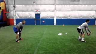 Fullback Jeff Logan 2012 training clips!!!!!!!!!