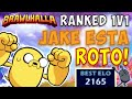 Gambar cover La skin de Jake me da más poder!   Brawlhalla ranked 1v1