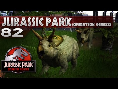 Jurassic Park: Operation Genesis || 82 || New Torosaurus