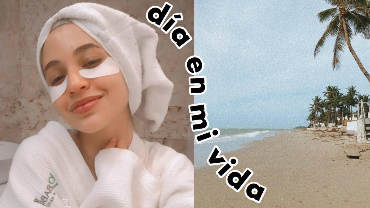 VLOG: día de spa, finales de la universidad & playa