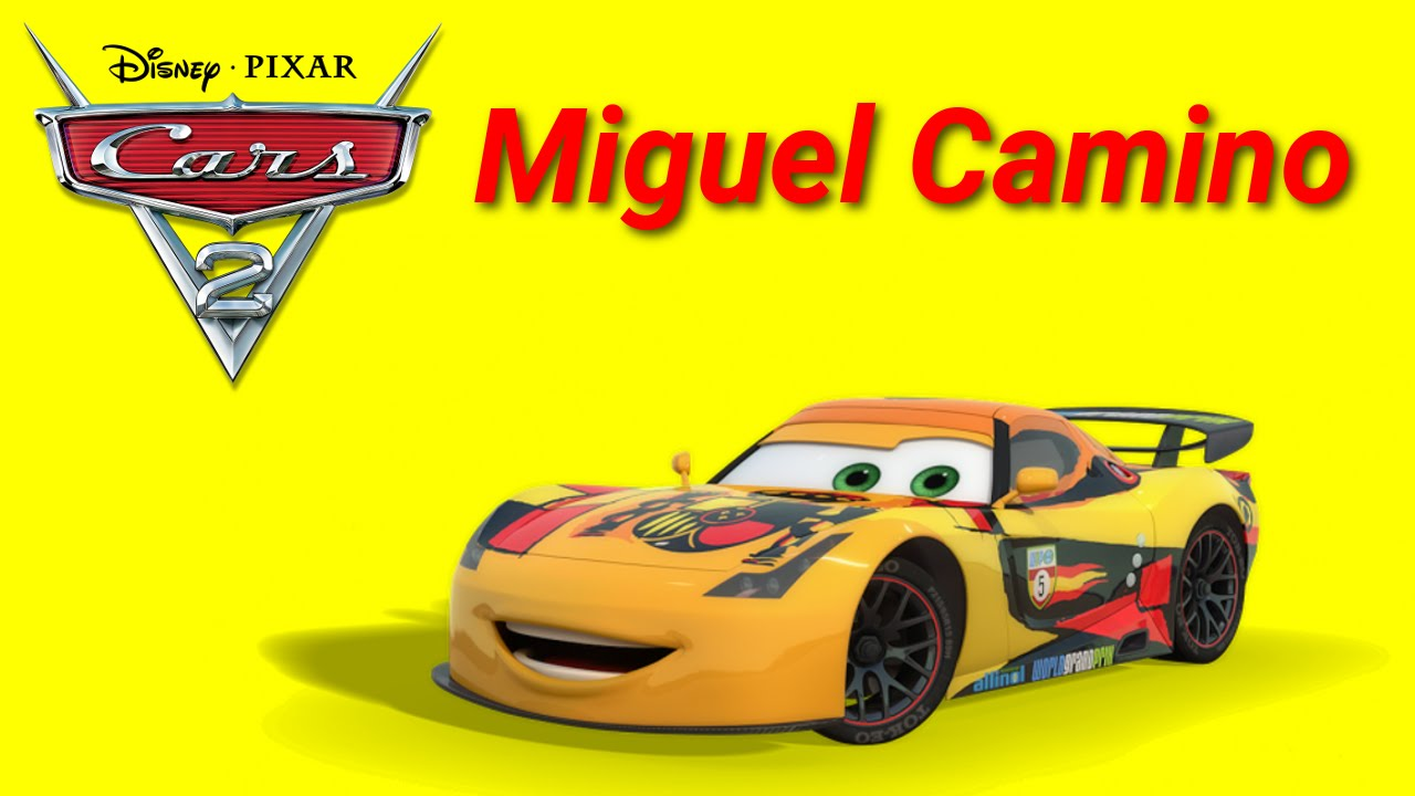 Unboxing disney pixar cars 2 miguel camino die cast car toy from mattel youtube - Coloriage cars 2 miguel camino ...