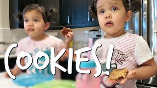 BAKING COOKIES with MK! - November 09, 2016 -  ItsJudysLife Vlogs