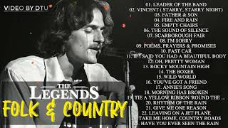 Best Folk Songs 70's 80's 90's Folk Rock - Country Collection 70's 80's 90's - Classic Music (60s - 90s)