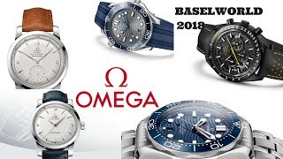 Brand New Watches From Omega - Baselworld 2018 - Seamaster And Speedmaster