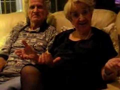 Granny fucks huge dildo