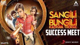 Sangili Bungili Kadhava Thorae Success Meet