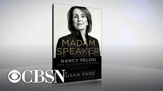 New book goes behind the scenes of Nancy Pelosi's life and political career