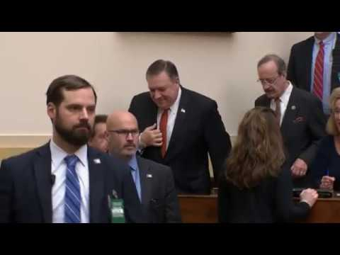 Statements: Secretary Pompeo on State Department Budget, Policy