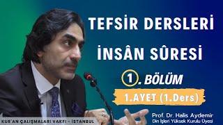 09.11.2019  İnsan Suresi Prof. Dr. Halis AYDEMİR  Kuran Çalışmaları Vakfı / İstanbul