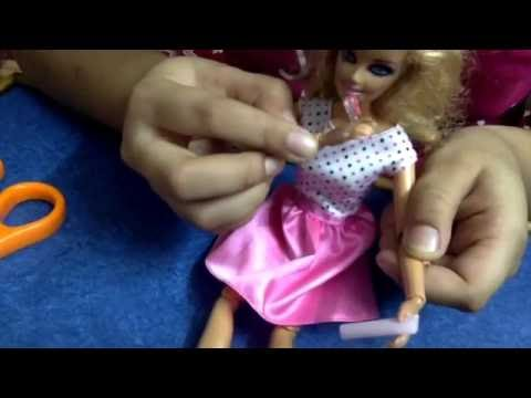 Miniature Toothbrush & Toothpaste for Barbie