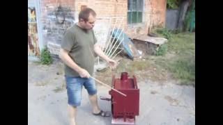 як зробити піролізні піч своїми руками