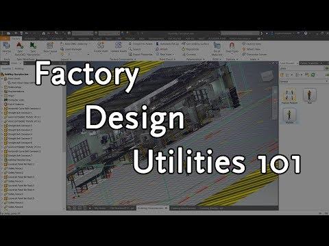 Factory Design Utilities: Inventor & AutoCAD | Autodesk Virtual Academy