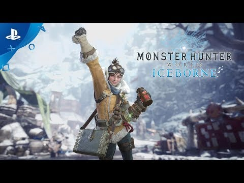 Monster Hunter World: Iceborne - A Tour with the Handler | PS4