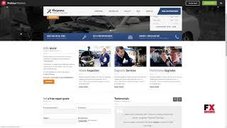 CarPress - WordPress Theme For Mechanic Workshops Lew Burke
