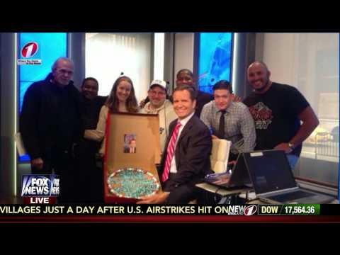 High Definition - FNC Anchor Jon Scott Surprised On Air for Birthday