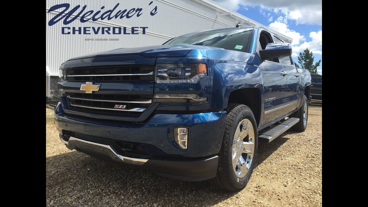 2016 chevrolet silverado 1500 crew cab blue new 1 2 ton truck stock 16n145 youtube. Black Bedroom Furniture Sets. Home Design Ideas