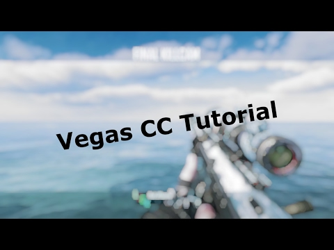 Sony Vegas Colour Correction Tutorial! (Underrated Editors Form Below)