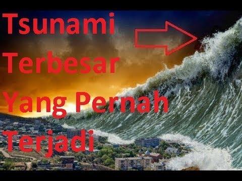 SUbhannalla !! Mungkin inilah Tsunami terbesar yang pernah terjadi