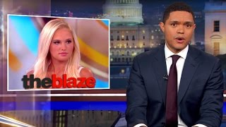 Trevor Noah Speaks On Tomi Lahren's Suspension For Her Controversial Comments On the View