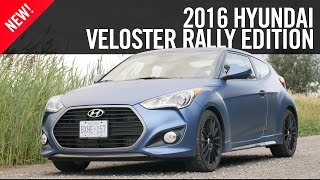 2016 Hyundai Veloster Rally Edition First Drive Review(For 2016, Hyundai's dialed up the Veloster with the Rally Edition, a proper special edition intended for the enthusiast. While that may be an ambiguous name for ..., 2015-09-29T15:00:02.000Z)