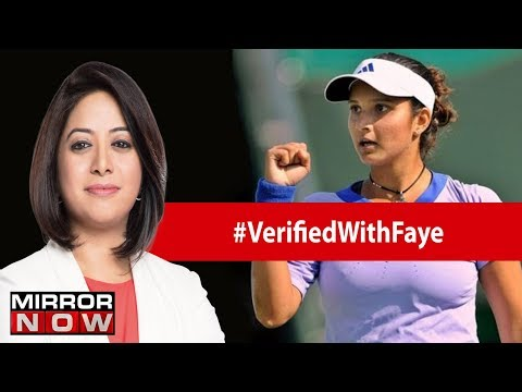 Sania Mirza in an exclusive interview with Faye | Verified With Faye DSouza
