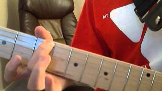 HOW TO PLAY IRON MAN ON GUITAR (NOT POWER CHORDS)~TheYoutubeChannel