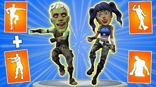 🎮What happens if mix two Fortnite dances in one #2. New Windmill Floss emote + Best Mates dance.