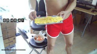 오늘의 점심 계란말이 + 비빔국수 만드는 법  9/13…