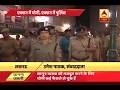 After CM Yogi's order, Police officers walk in busy market to instill confidence in public