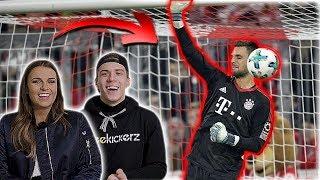 Die PEINLICHSTEN Torwartfehler in der Bundesliga ( mit Laura Wontorra)