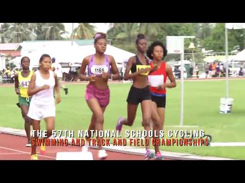 THE 57TH NATIONAL SCHOOLS CYCLING, SWIMMING AND TRACK AND FIELD CHAMPIONSHIPS