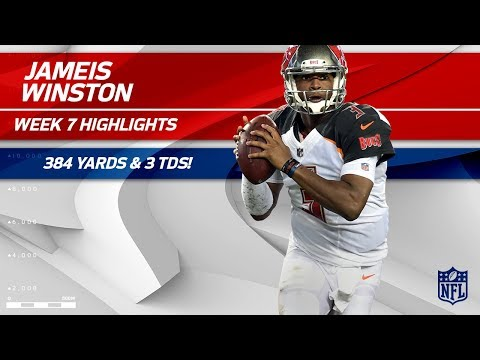 Jameis Winston Lights Up Buffalo w/ 384 Yards & 3 TDs! | Bucs vs. Bills | Wk 7 Player Highlights