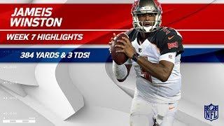 Jameis Winston Lights Up Buffalo w/ 384 Yards & 3 TDs!   Bucs vs. Bills   Wk 7 Player Highlights