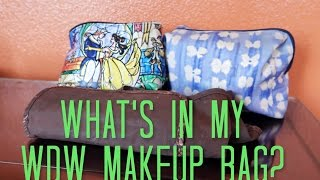 Disney Packing Series || Part 4: What's In My Makeup Bag
