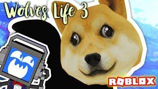I AM DOGE WOLF (Roblox Wolf es Life 3)