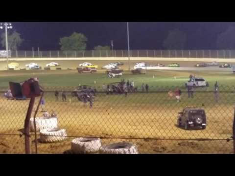 Florence speedway hornet feature 6-25-17 p1of6