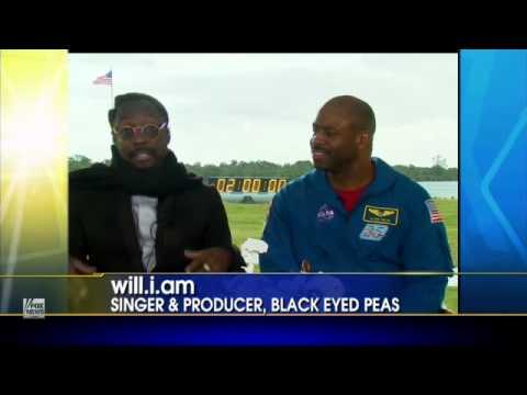Will.i.am joins NASA on Mars Rover Launch - Fox News
