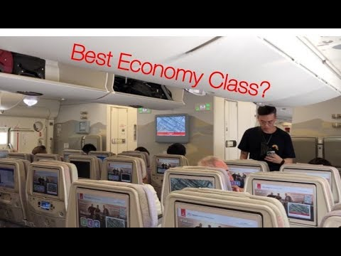 Emirates A380 Economy Trip Report/Review - Manchester To Dubai