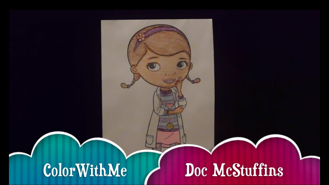 Crayola Giant Coloring Pages Doc Mcstuffins ~ best ideas For ...