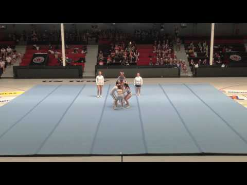 Cheer Excess - Energy [ Groupe stunt senior 4 - Cheer For Me 2017 ]
