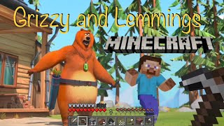 Grizzy and Lemmings - Minecraft Pt 1 - E19