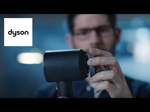 The Dyson Supersonic™ Gentle air attachment - engineered to prevent colour fade
