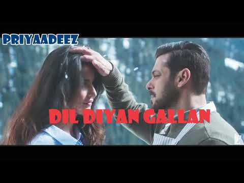 Atif Aslam| Dil Diya Gallan| Full Song| With Lyrics| Salman Khan| Katrina Kaif