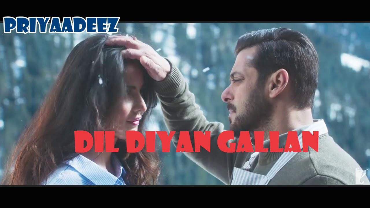 Atif Aslam Dil Diya Gallan Full Song With Lyrics Salman Khan Katrina Kaif